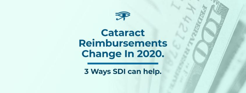 Cataract Reimbursments