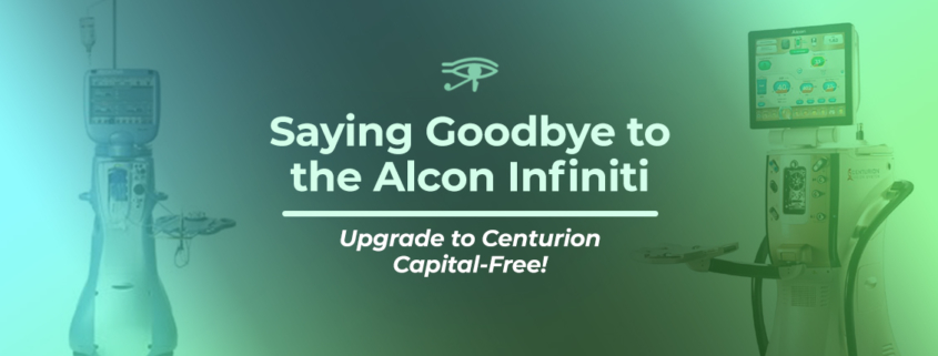 Goodbye Alcon Infiniti