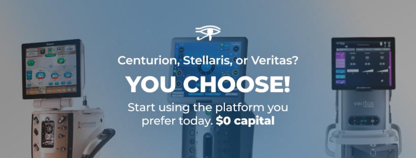 Choose Centurion, Stellaris, or Veritas
